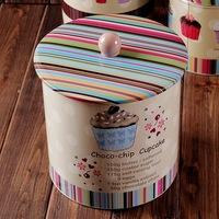 New Creative sealed Cylinder Shape tea tin box/ Mini zakka Coffee box/ Storage box/Storage Cas