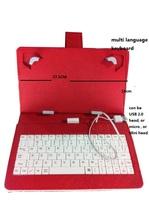 100pcs/lot Free shipping cheapest  high quality universal USB KEYBOARD for tab 2 tab 3 tab 4 10.1
