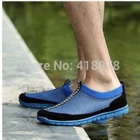 2014 male sandals male sandals breathable shoes network men's popular casual shoes