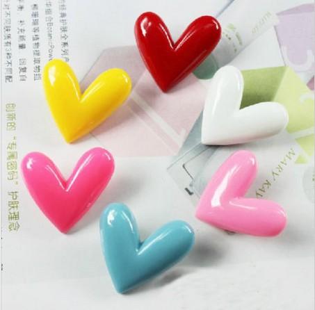 2014 Nova Marca da forma do coração imã / cor de doces Mini Geladeira baratos Stickers / Bonito Mini Decoração Hoom(China (Mainland))