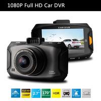 "2014 NEW Ambarella A7 Car DVR Video Recorder Full hd 1080P 2.7""LCD HDR G-Sensor H.264 Night Vision Video Recorder Dash Cam"