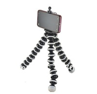 Mini Joby + Mobile Phone Holder  Stand Mini Tripod Stand Holder for Mobile Cell Phone with the clip for iPhone Samsung galaxy S4