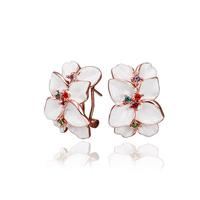 2014 new arrival wholesale free shipping 18KGP E644 18k gold earrings fashion jewelry nickel free nice earrings for women
