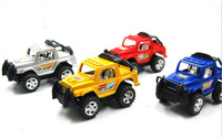 2014 Hot Sale Cheap Plastic ABS+Rubber Pull back Jeep Car Toys for Children 2-4years old Moq:10 Pcs Free shipping