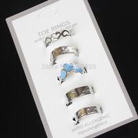 12set /lot, Fashion Toe Ring, Wholesale, mix colors. free shipping