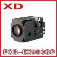 Free shipping for FCB-EX980SP high resolution mini zoom camera module/small PTZ camera module sony camera