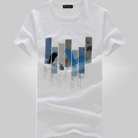 Free Shipping 2014 Summer Fashion T Shirt Men Short Sleeve Cotton Shirts Brand New Men Discount Supreme t shirts