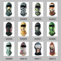 Outdoor Sports Ski Motorcycle Motorbike Neck Warmer Helmet Hood Hat Headwear Full Face Mask Balaclava for Biker