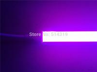 SMD3528 isolated driver 60cm 600mm 0.6m 2ft 9W pink color led freezer tube , led refrigerator tube light , Fedex free ship