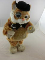 2014 new electric toys, shilly-cat, Russian music, two functions, interactive toys, children's New Year's Christmas gift
