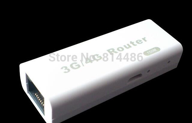 1pcs/lot Portable Mini Wireless wifi Router 3G 4G Hotspot RJ45 150Mbps Wifi Hotspot support 3G USB modems Free Shipping(China (Mainland))