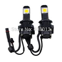 Free Shipping 12V/24V H7 Led Automotive Headlight Kit 50W Cree  Auto Car Led Head Lamp Conversion Kit For Fog Light Bulb