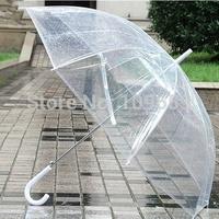 Free shipping Fashion long-handled transparent umbrella fully-automatic umbrellas rain,women's sun protection umbrella