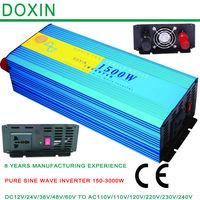 Factory Directly Selling Electric Drill Inverter Pure Sine Wave Inverter,Solar Hybrid Off-Grid DC To AC Invertor 1500W 12V 220V