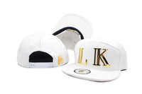 New Arrival, White Black Red Yellow Brown Gray LK LastKings Leather Snapback Caps