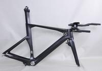 Free shipping! Hot Sale Carbon TT Bike Frame New Time Trail Frameset(Di2 Compatible) FM069