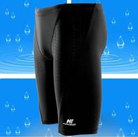 Long Black Men's Swim Trunks Swimming Swim Briefs Underwear Swimwear Shorts Briefs L,XL,XXL,XXXL GYD187