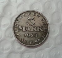 1923 Germany 3 mark COIN COPY FREE SHIPPING