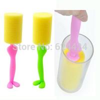 Creative kitchen utensils clean skillet clean glass bottle brush longer brush pot dishes