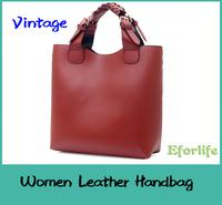 Women Ladies Vintage Celebrity Tote Bag Pu leather Handbags Adjustable Handle Casual Satchel Shoulder Bags EF115
