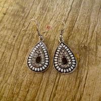 Vintage Earrings Fashion Earrings Statement Jewelry ,Wholesale #PDRE-DJ078White