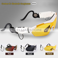 New Original K1 Gonbes Outdoor Sports Bluetooth Touch Function UV Sunglasses Set Polarized Glasses Sunglasses Free shipping