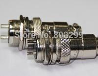 Plug: 100 Pcs aviation plug socket GX16-8 core 8P aviation joint female/male connector industrial plug