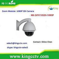 2014 new hd sdi ptz camera 2.1Mp HK-SV9110SDI-1080P 10x Zoom hd sdi ptz camera without IR
