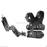 1-7kg Carbon Fiber Stabilizer Steadicam Camera DSLR Video Steadycam Vest Arm