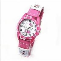 2014 New Children Cartoon Watches Women Girl Quartz Brand Fashion watches 11 colors hello kitty watches for kids girl ML0221