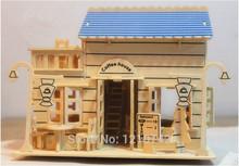popular wooden scale models
