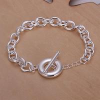 H090 Free Shipping Wholesale 925 silver bracelet, 925 silver fashion jewelry To Bracelet-no words / bnhakeoasv