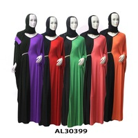 Free shipping muslim dress dubai abaya jilbab islamic clothing full length evening abaya