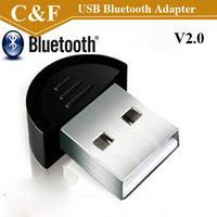Smallest 2.0 Mini USB Bluetooth Adapter V2.0 EDR USB Dongle Dropshipping + Freeshipping