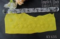 FREE SHIPPING 1PCS Transparent cake mold Rolling Pins Pastry Tools Decoration diy fondant new E210-3