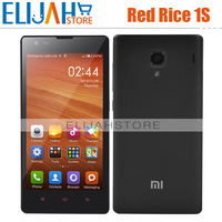 Original Xiaomi Hongmi 1s Qualcomm MSN8228 Quad Core 3G mobile phone 4.7'' 1G/8G Dual Camera Bluetooth GPS Android 4.3Red Rice