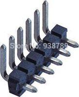 5.08mm H2.50 Pin Header  2~20P right angle plating Tin