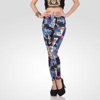 Leggings Head High Elastic Spring And Summer Women's New Fashion Milk Silk Leggings Female KIKEY Free Shipping P1038