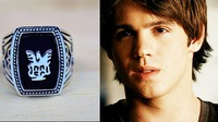 wholesale 20pcs The Vampire Diaries Jeremy resurrection ring Elena punk Ring Quality Fashion jewelry