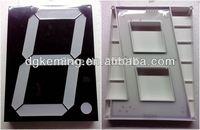 wholesale white 8 inch  7 segment led  display one digit
