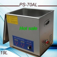 Globe new arrival free shipping 110V/220V PS-70AL Power adjustment 170-420w  Ultrasonic Cleaner 19L with free basket bath