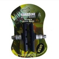 Carbon wheel mountain bike V-brake pads 947V with mud trough silent bicycle brake pads road bike brake pads, free shipping
