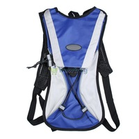 Blue Hydration Pack Water Rucksack Backpack Sports Cycling Bladder Bag 2L S7NF