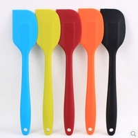 free shipping strong big silicone spatula  butter knife cake tools FDA standard 2pcs/lot 28*5.6CM