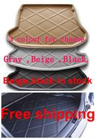 Wholesale free shipping !! Hyundai Sonata  Rubber Foam Trunk Tray Liner Cargo Mat Floor Protector 2010-2013