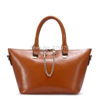 New 2014 European style Genuine leather/cowhide Luxury women messenger bags Casual women handbag one shoulder bag Free Shipping