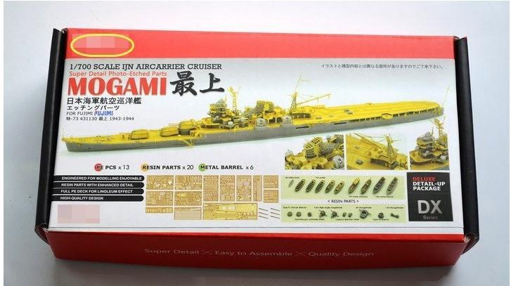1/700 WWII Japanese ship model aviation cruiser Mogami transformation kit with Fujitsu America PE transformation piece(China (Mainland))