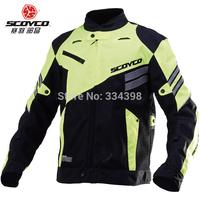 Scoyco motorcycle clothing automobile race ride top motorcycle reflective jacket jk36 Fluorescent jackets