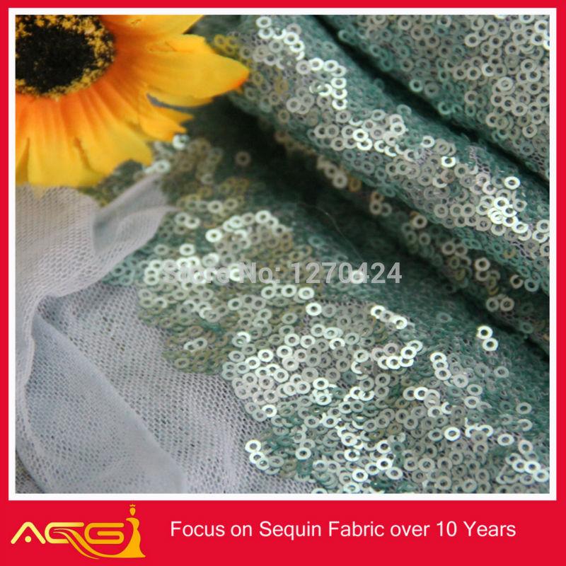 Matte Gold Sequin Fabric Matt Green Sequin Fabric