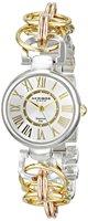 Free Shipping Women's Fashion Wristwatch New Arrival Ladies' Twist Chain Roman numerals Dial bracelet Quartz Two Tone Watch